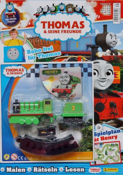 Thomas und seine Freunde Magazin 39