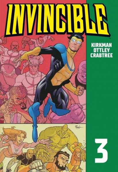 Invincible 3 Cover