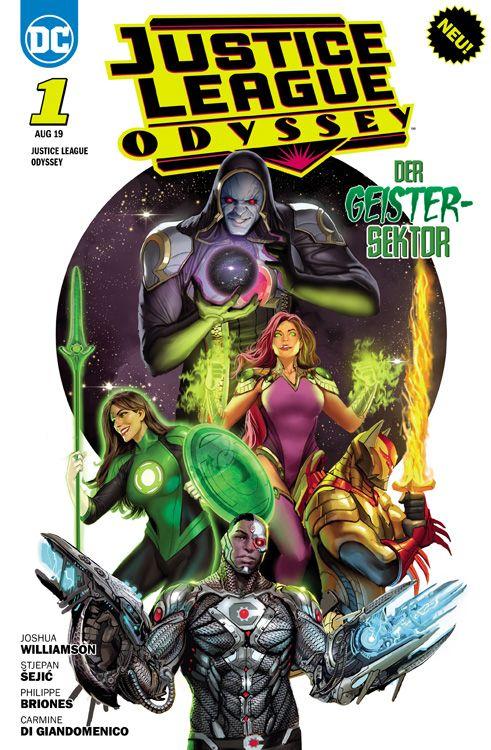 Justice League Odyssey 1: Der...