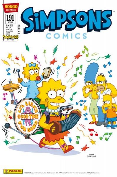 Simpsons Comics 191