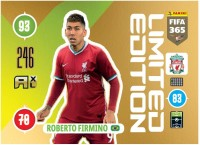 Panini FIFA 365 Adrenalyn XL 2021 Kollektion – LE-Card Roberto Firmino Vorne