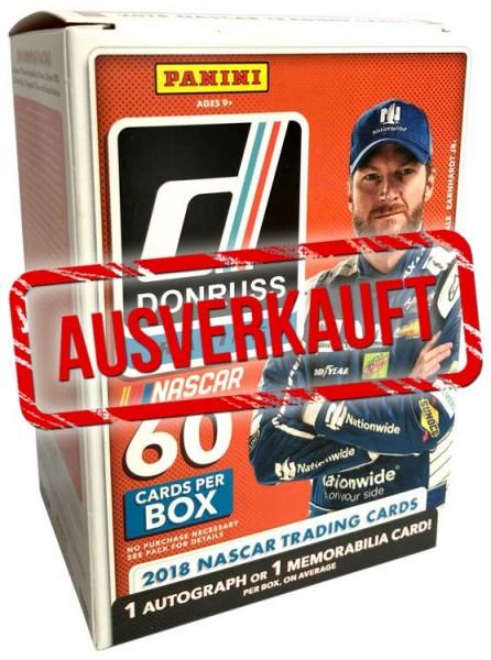 NASCAR 2018 Panini Donruss Trading Cards - Blasterbox - ausverkauft