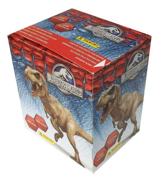 Jurassic World Stickerkollektion - Box mit 50 Tüten
