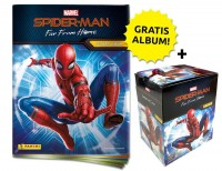 Spider-Man: Far From Home – Sticker und Cards – Sticker-Starter-Bundle