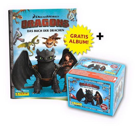 Dragons: Das Buch der Drachen Stickerkollektion - Bundle 1