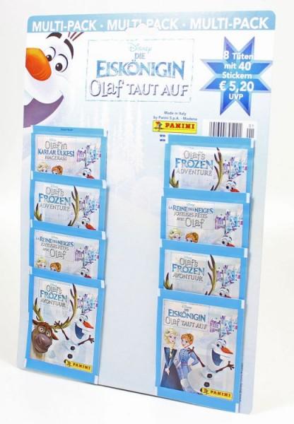 Die Eiskönigin: Olaf taut auf - Stickerkollektion - Multipack