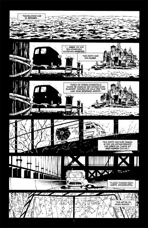 Batman Noir: Der Tod der Familie Blick in den Comic