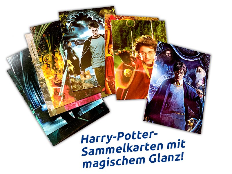 Harry Potter Sticker & Cards Dinosaurier Trading Cards Beispiel