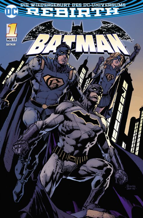 Batman 1 Variant A