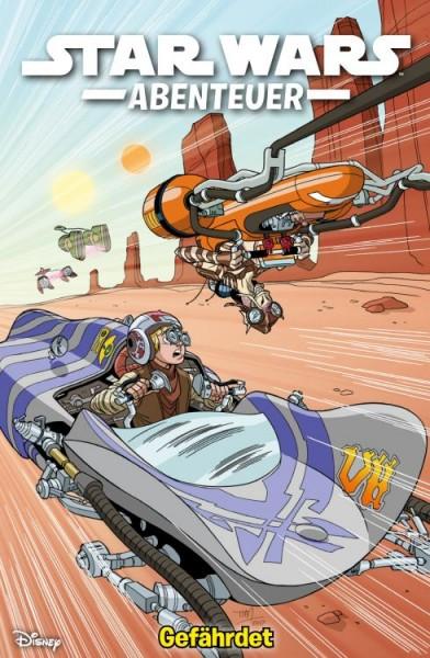 Star Wars Abenteuer 4: Gefährdet Cover