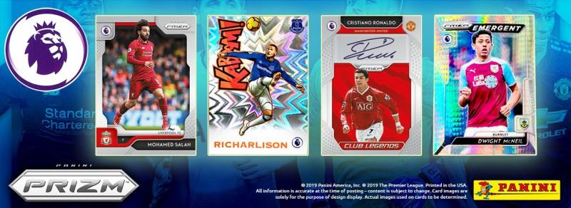 PRIZM Premier League Trading Cards 2019/20 - Banner