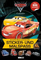 Cars 3: Superstarker Sticker- und Malspaß