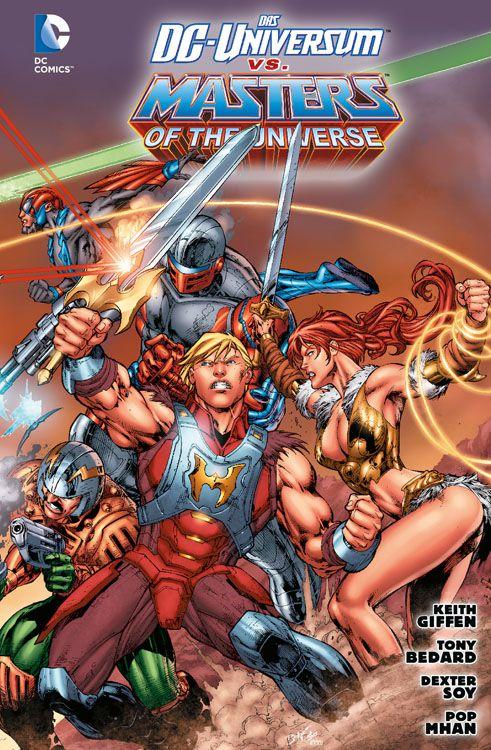 Das DC-Universum vs. Die Masters of...