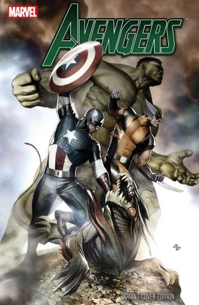 Avengers 17 (2016) Vienna Comic Con Variant