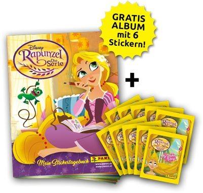 Disney: Rapunzel - Stickerkollektion - Bundle 1