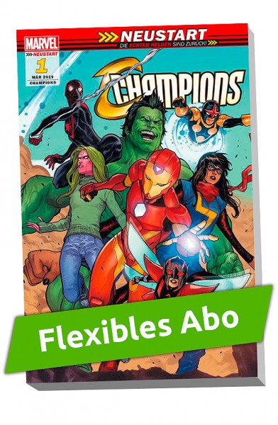 Flexibles Abo - Champions Sonderband