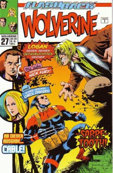 Wolverine 27: Sabre Tooth!