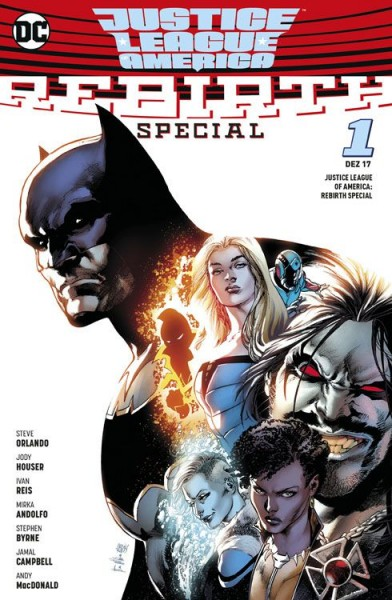 Justice League of America 1: Rebirth Special