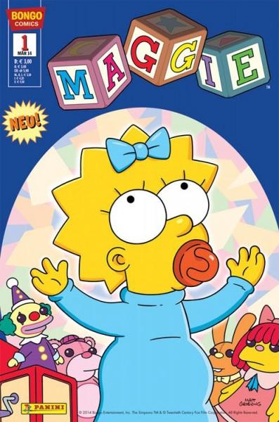 Simpsons Comics präsentiert: Maggie 1