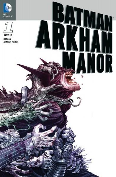 Batman: Arkham Manor Variant - Comic Action 2015