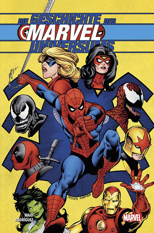 Die Geschichte des Marvel-Universums...
