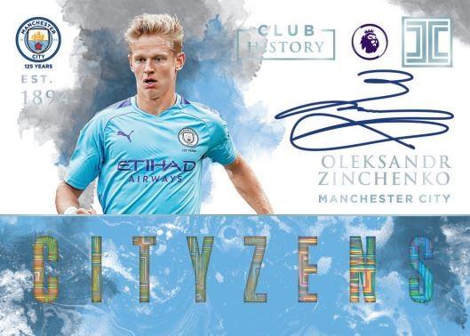 Panini Impeccable Soccer Premier League 2019/20 - Oleksandr Zinchenko