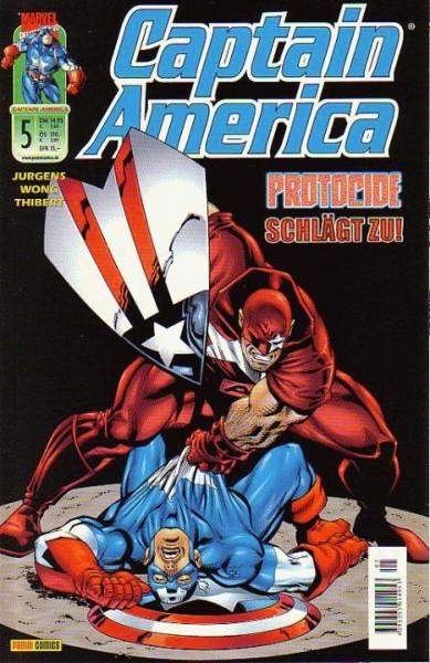 Captain America 5 (2001) - Protocide schlägt zurück