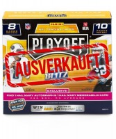 NFL 2017 Playoff Trading Cards - Box