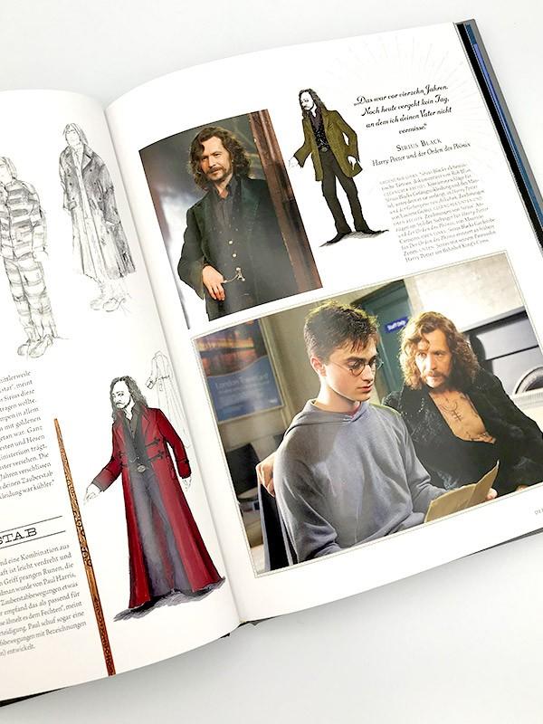 Harry Potter Filmwelt Blick ins Buch