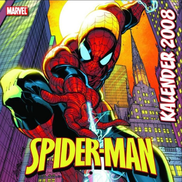Spider-Man Wandkalender (2008)