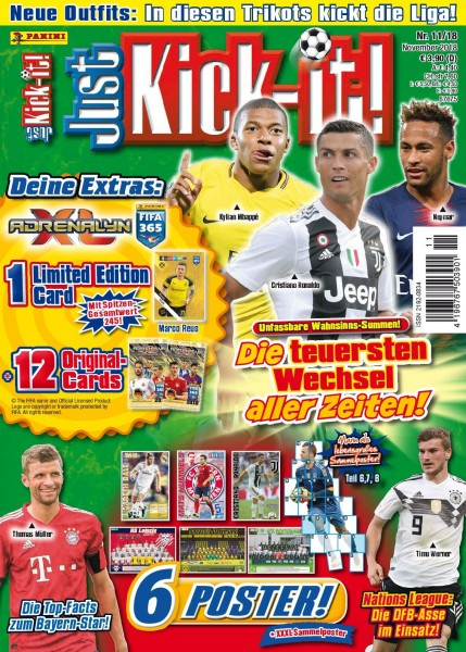 Just Kick-It! Magazin 11/18