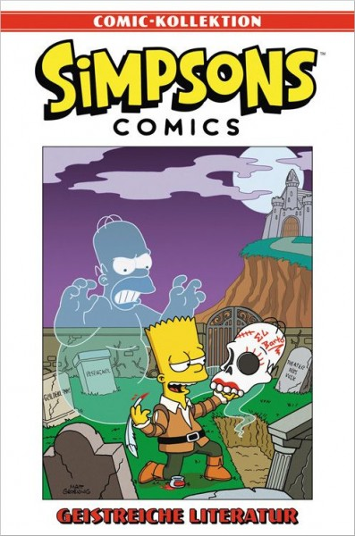 Simpsons Comic-Kollektion 17: Geistreiche Literatur Cover