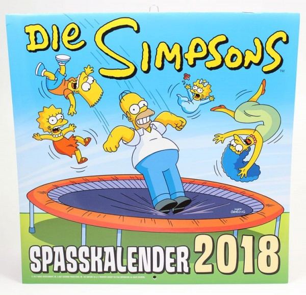Simpsons - Wandkalender (2018)